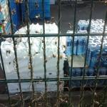 stockage des bouteilles d'eau