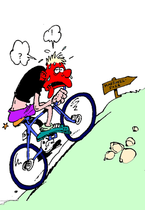 Monter une c te en v lo tripassion coachingtripassion - Cycliste dessin ...