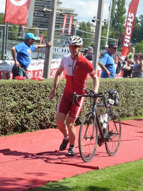 Stéphane Blondel début vélo