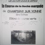 jaquette du trail de Champigny