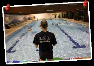 Entraînements natation