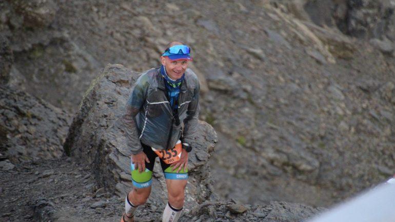 Fin de la course à pied sur Inferno Triathlon